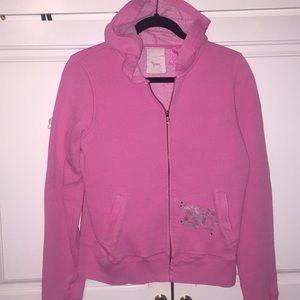 Pink by Victoria's Secret rhinestone hoodie